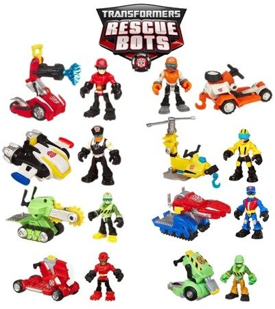 HASBRO - TRANSFORMERS RESCUE BOTS CHARLIE + NOŻYCE 33046